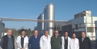 El ministro, Sergio Busso, visitó la Cooperativa Arroyo Cabral
