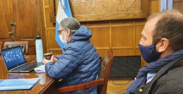 Basterra recibió a representantes de la Junta Intercooperativa de Productores de Leche